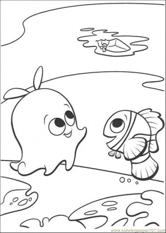 Finding Nemo Pearl Drawing Images & Pictures - Becuo