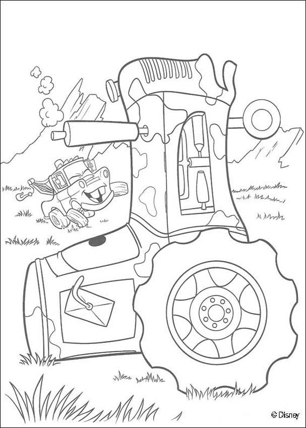 Cars-disney-coloring-3 | Free Coloring Page Site