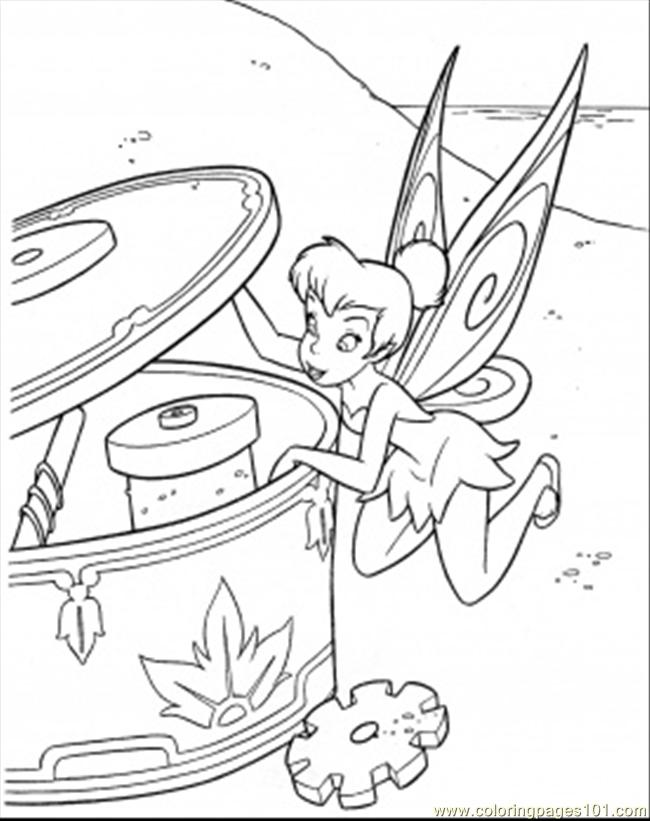 Coloring Pages Big Box (Cartoons > Disney Fairies) - free ...