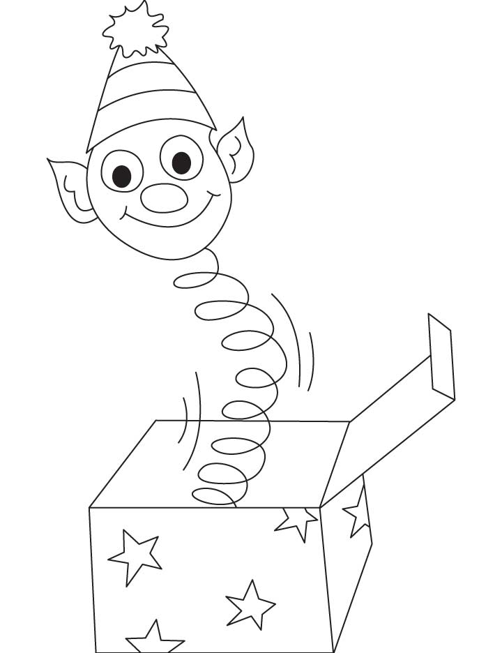 Jack in the box coloring pages | Download Free Jack in the box ...