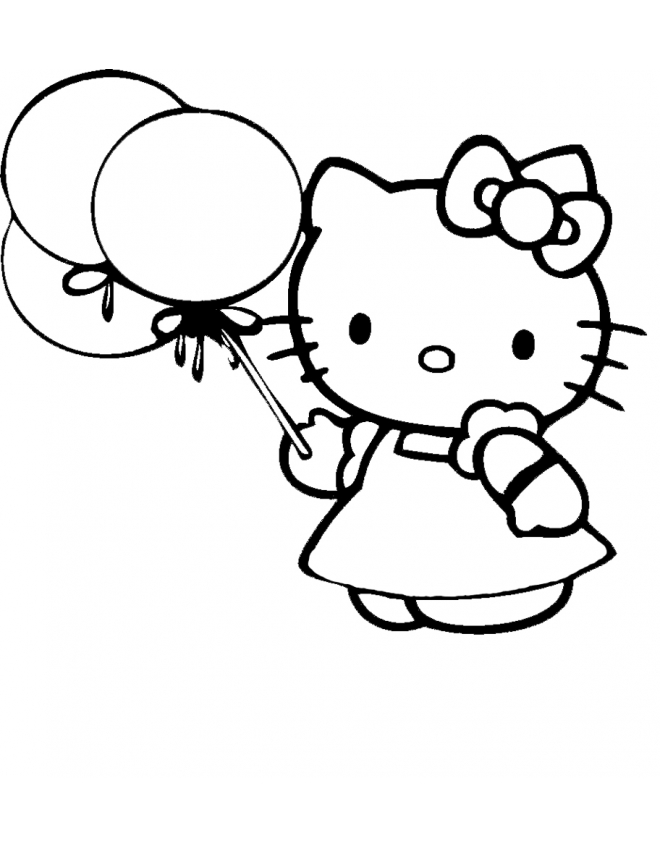 Kitty Coloring Cached Cake Ideas and Designs