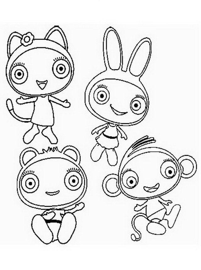 avatar away buloo Colouring Pages (page 2)
