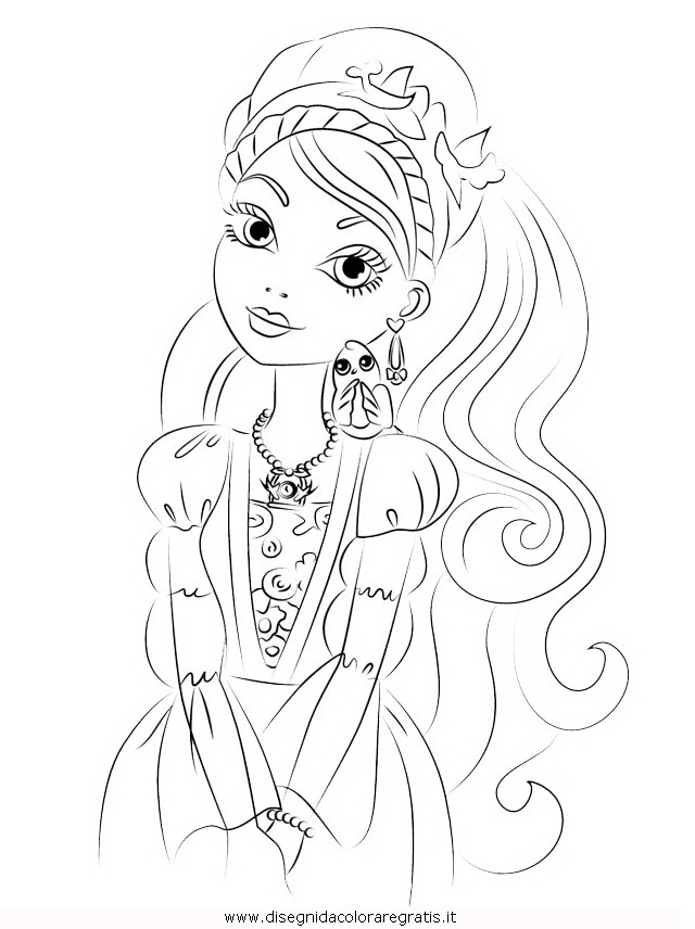 Disegni da colorare di ever after high - Pronto Imelda