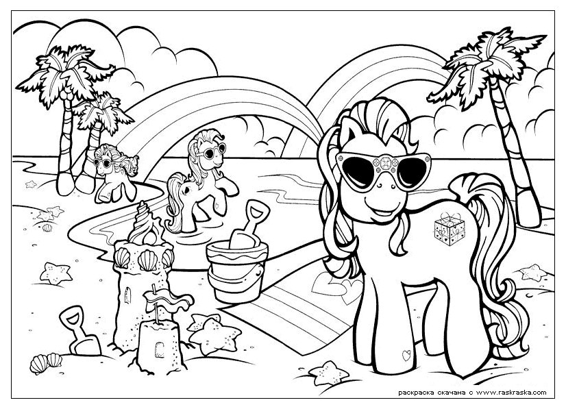 My Little Pony »da colorare per bambini. Stampa colorare gratis ...