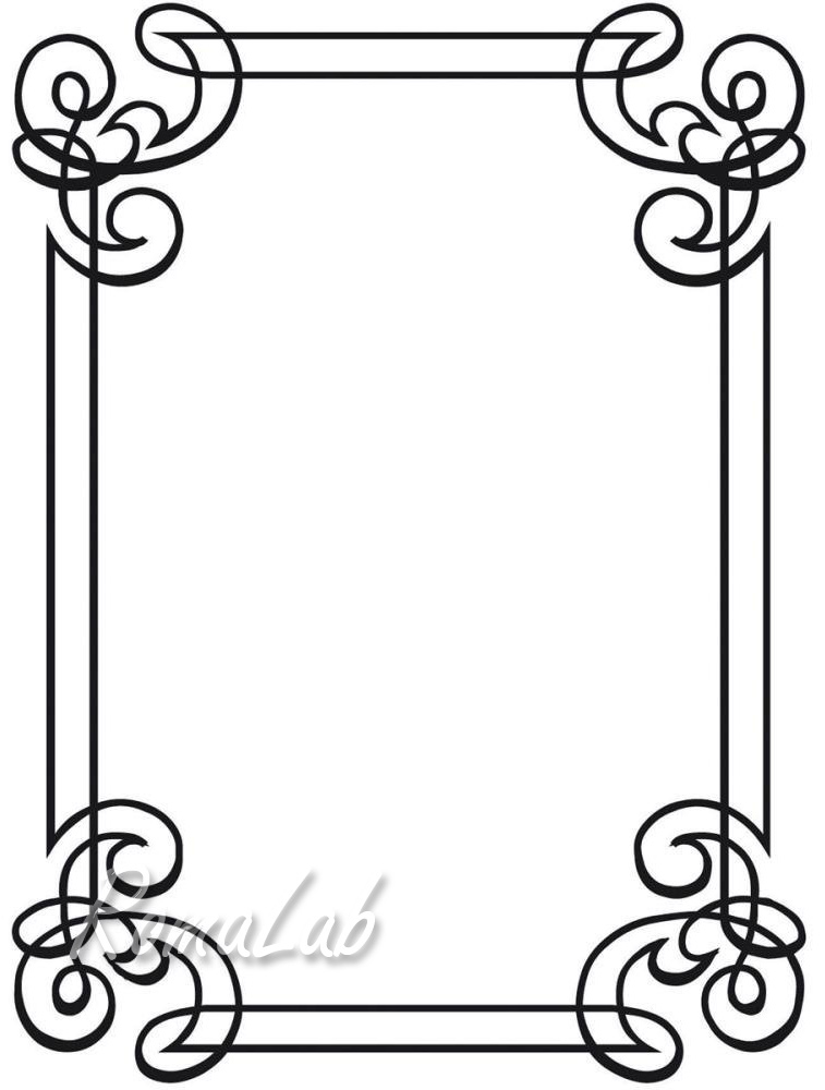 MASCHERINA Embossing FOLDER cornice cornicetta rilievo x BIG SHOT ...
