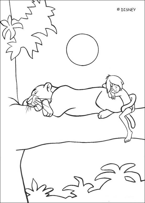 THE JUNGLE BOOK Original movie printables - BALOO and KING LOUIE