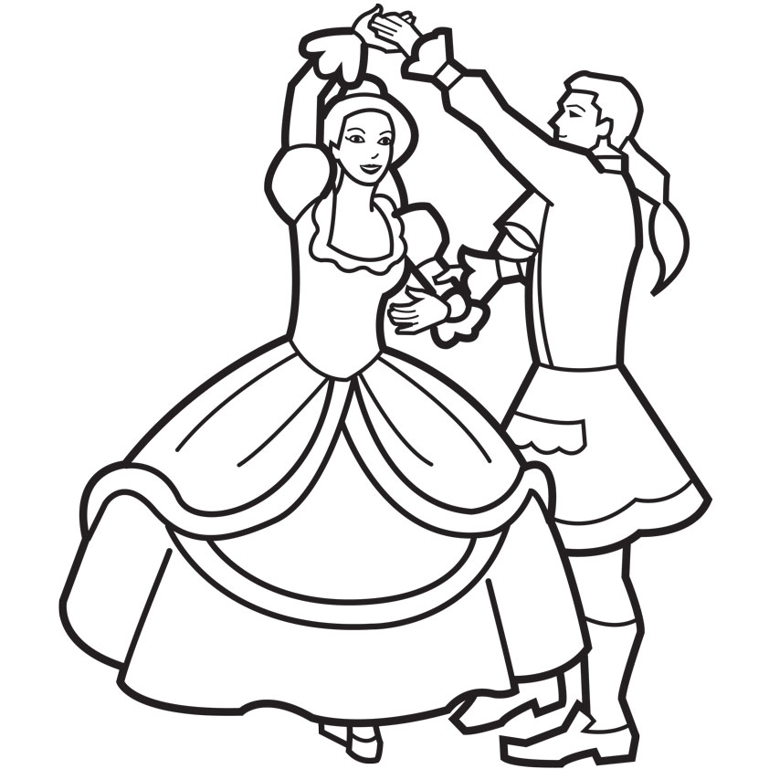 Barbie and ken kissing coloring pages