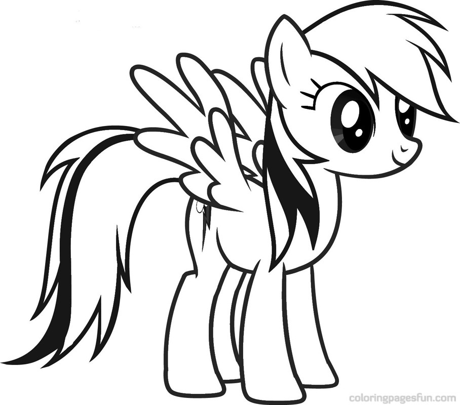 rainbow dash my little pony rainbow dash coloring pages ...