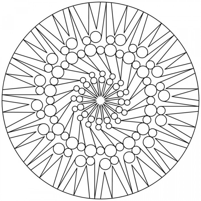 Free Teenagers Mandala Coloring Pages - Symbol Coloring Pages of ...
