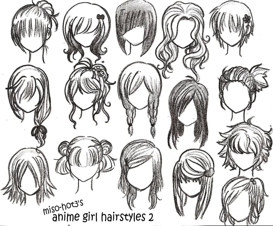 anime hairstyles - Hair Cuttery Blog