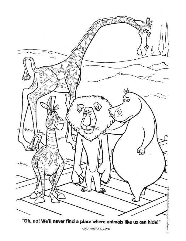 ColorMeCrazy.org: Printable Coloring Pages