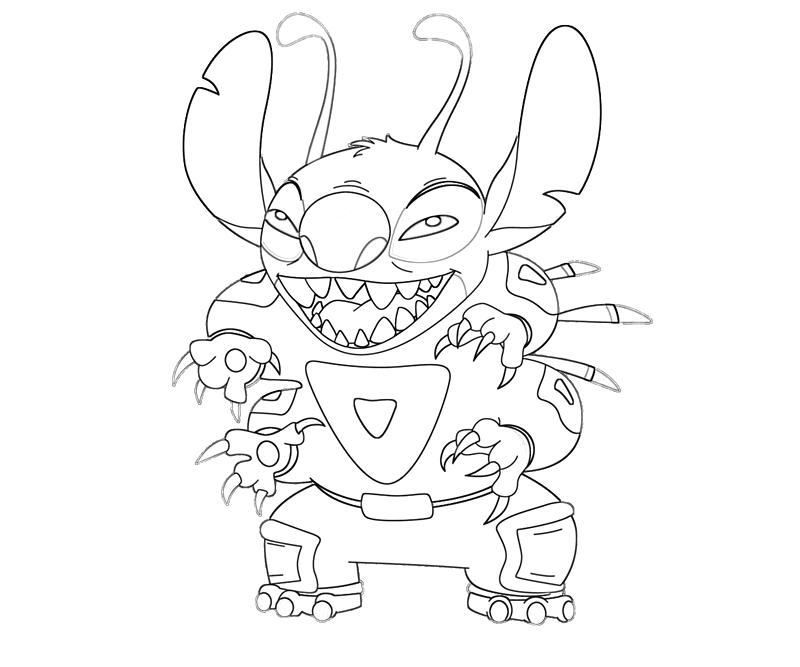 Pictures of Lilo And Stitch Surfing Coloring Pages - kidskunst.info