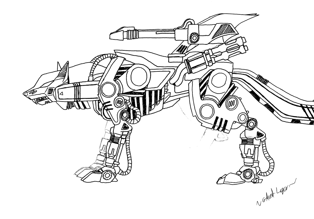coloring pages zoids - photo#19