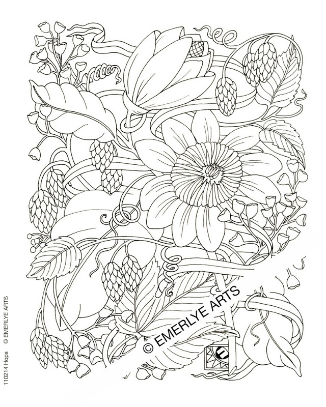 Color By Number Flower Coloring Pages | Top Coloring Pages