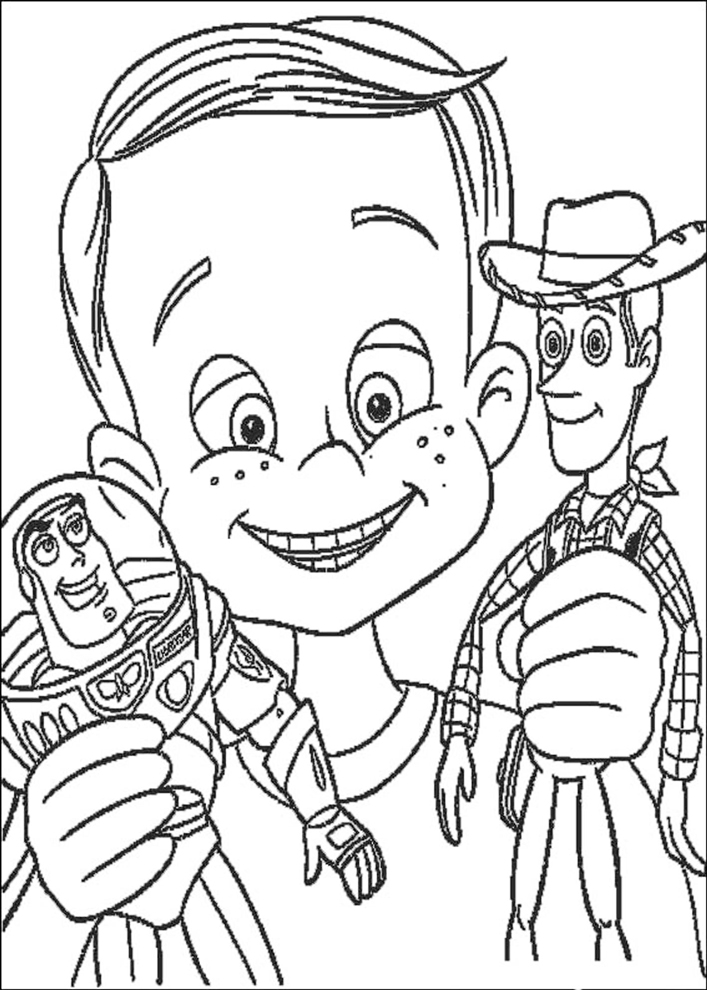 Disegni Di Toy Story Da Colorare Az Colorare
