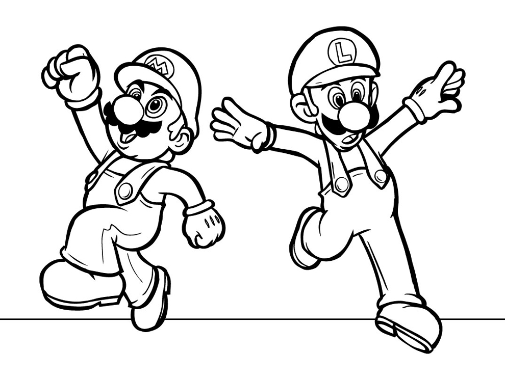 Disegni Di Mario Bros Da Colorare Az Colorare
