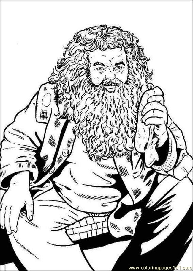 Coloring Pages He Phoenix Coloring Pages (Cartoons > Harry Potter ...