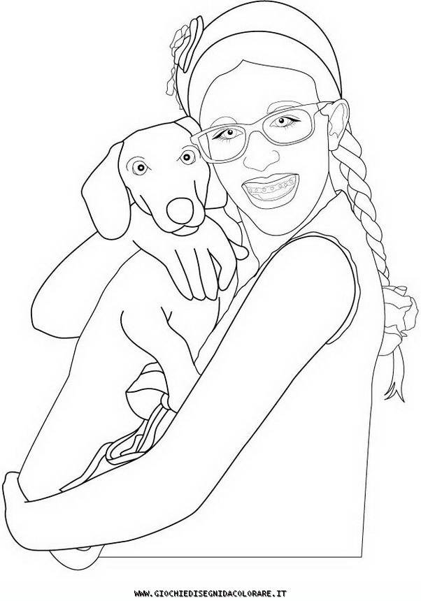 DI PATTY Colouring Pages
