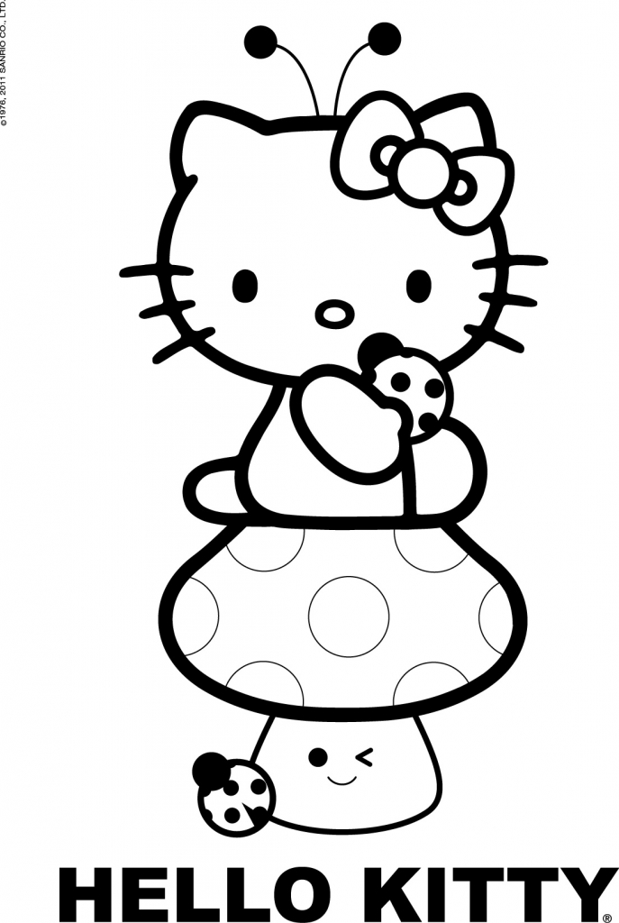Stampa e colora Hello Kitty | KittyLove