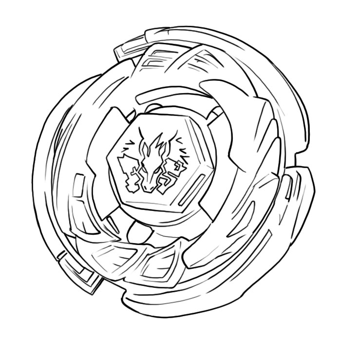 niños blades Colouring Pages