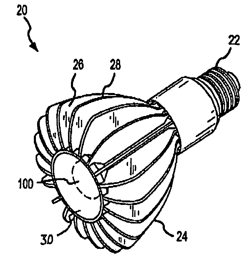 Patent US6982518 - Methods and apparatus for an LED light - Google ...