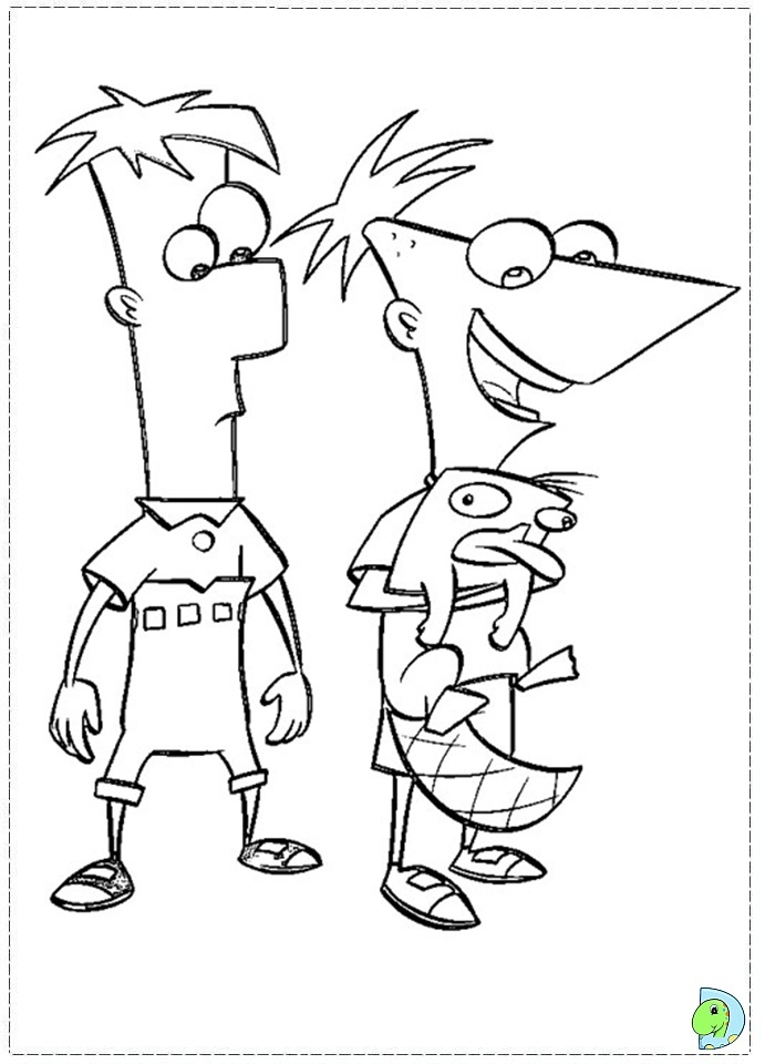 Phineas And Ferb Coloring Pages Candace images