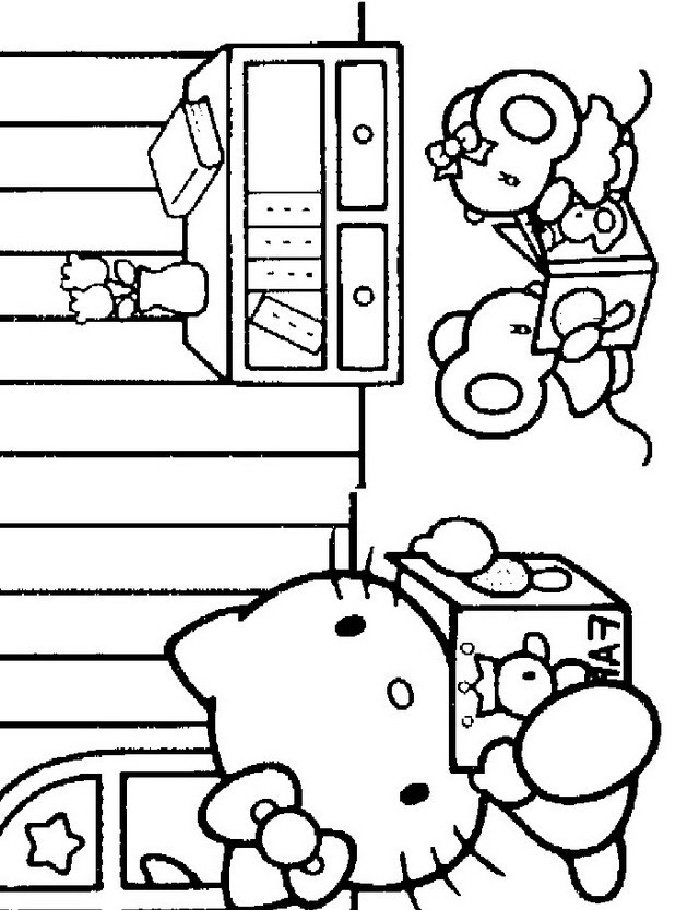 Pin Disegni Hello Kitty Da Colorare E Stampare on Pinterest