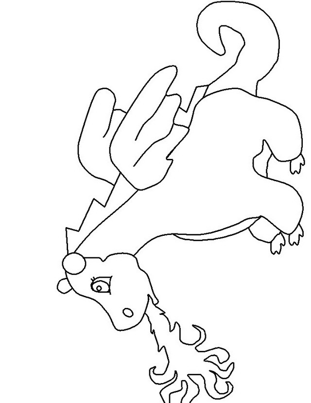 draghi di fuoco Colouring Pages
