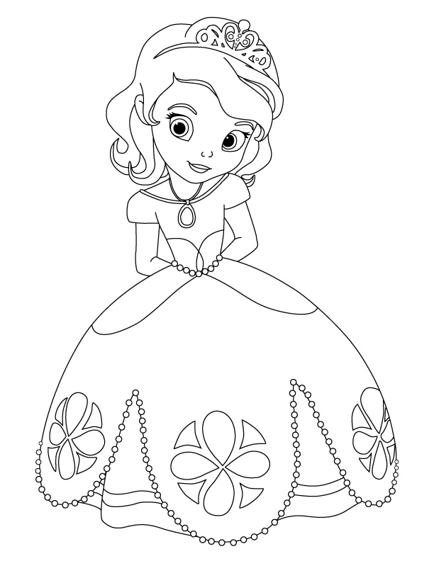 sofia la principessa Colouring Pages (page 3)