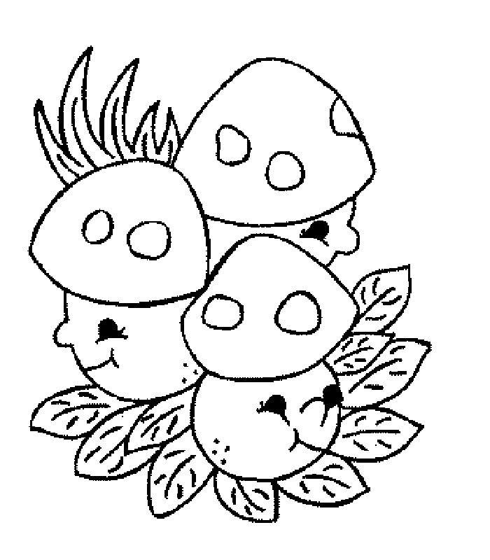 gfunghi Colouring Pages