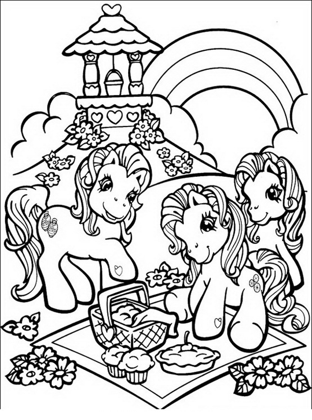 My little pony da colorare | Disegni da colorare mania
