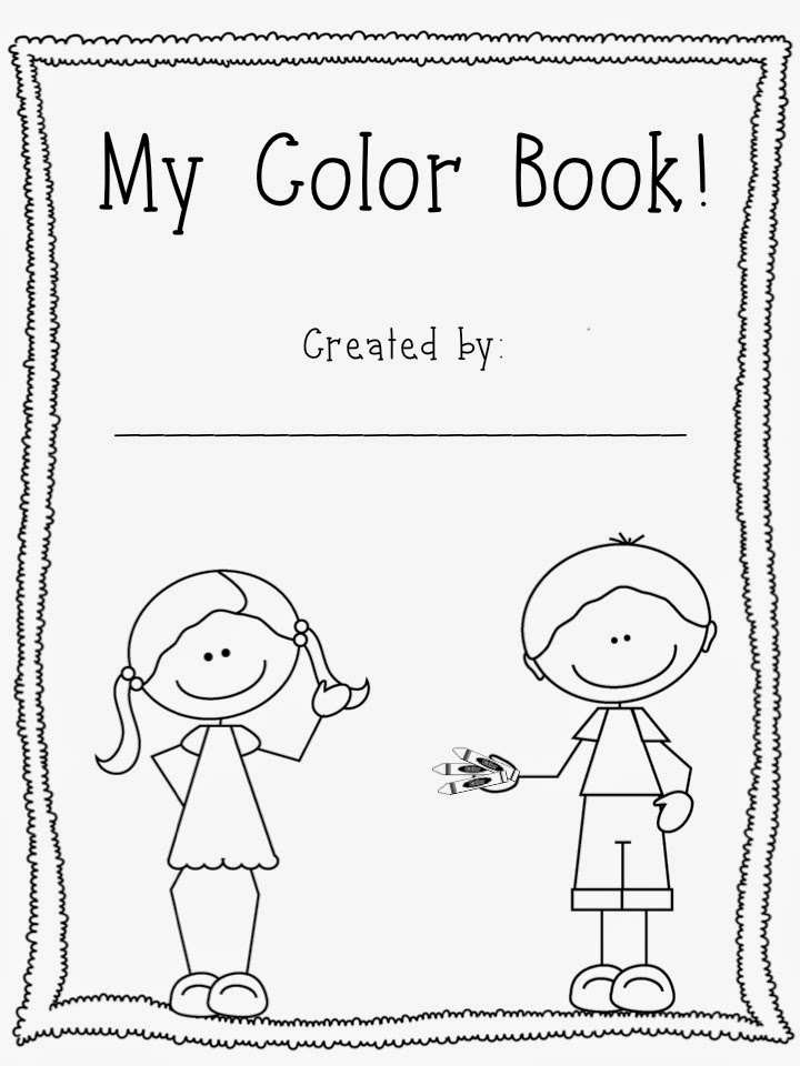 Mrs. Hodge and Her Kindergarten Kids: It's time to COLOR!!