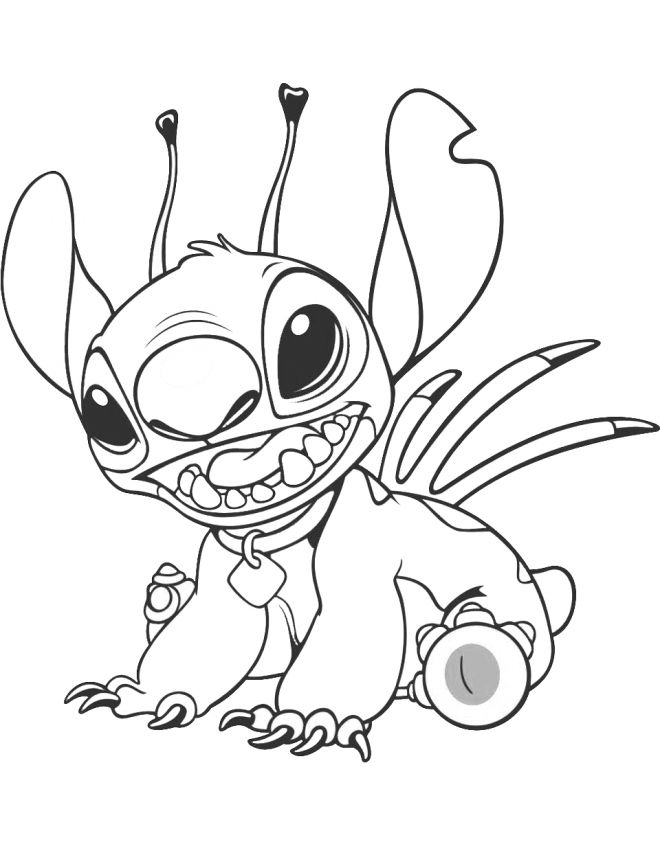 Lilo e stich Colouring Pages (page 2)