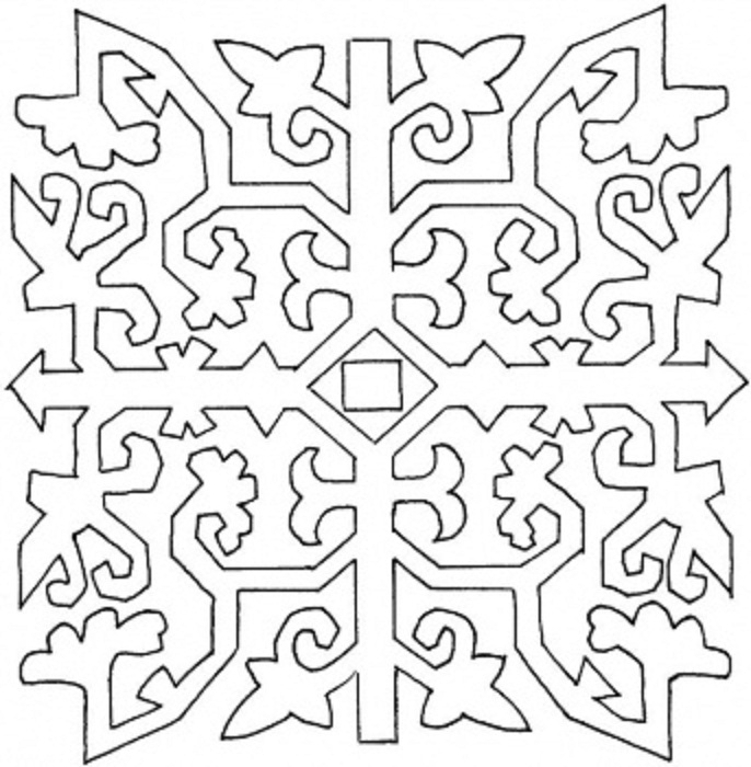 Coloring Pages Pattern to Color | Coloring
