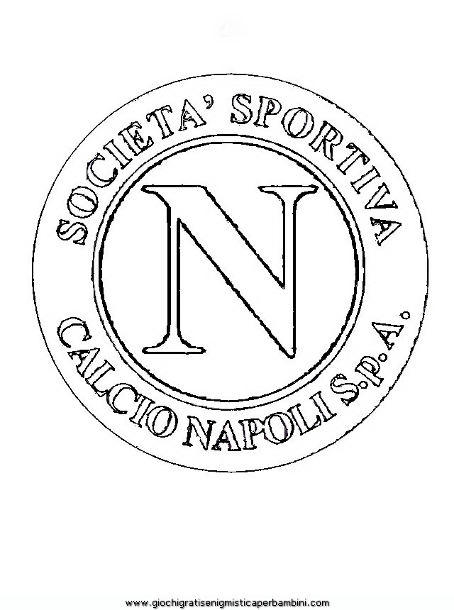 napoli Colouring Pages