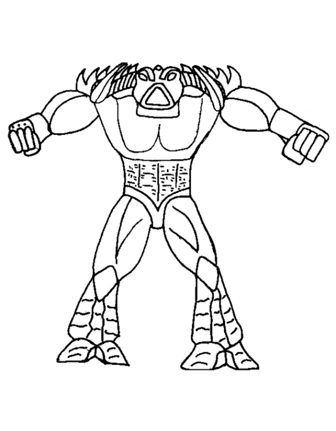 tobz gormiti Colouring Pages