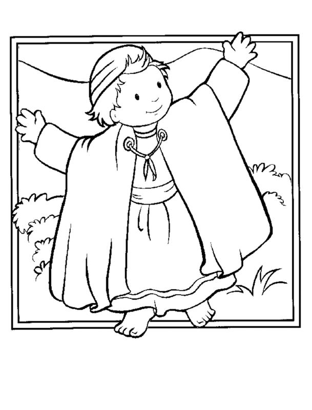 Christian Coloring Pages for Kids, Compliments of Warren Camp Design