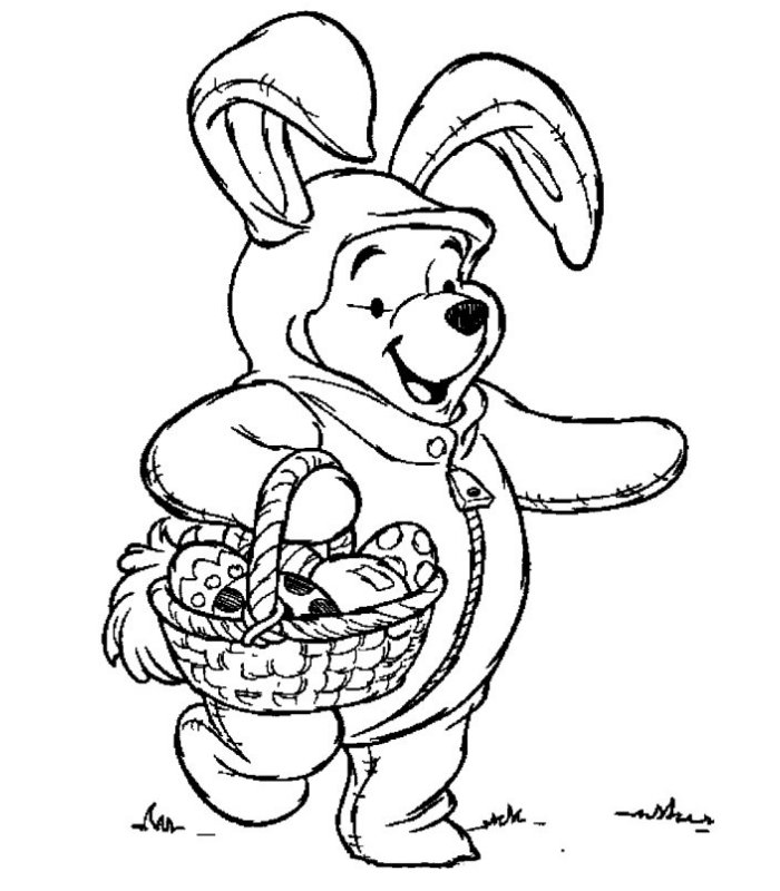 disegni-di-pasqua-da-colorare-winniw-pooh - Blogmamma.it