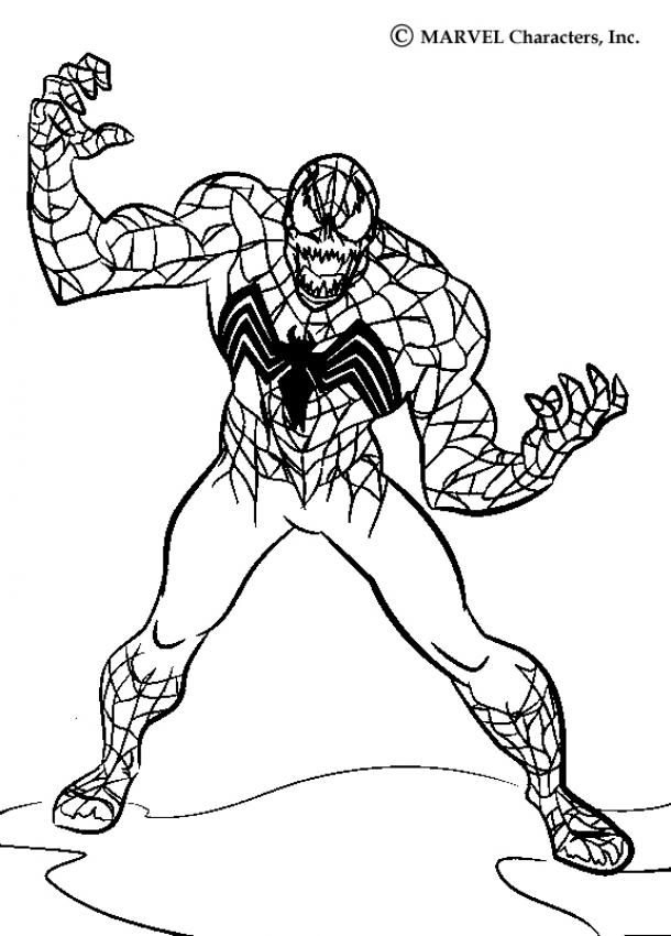 SPIDER-MAN coloring pages : 37 free superheroes coloring sheets ...