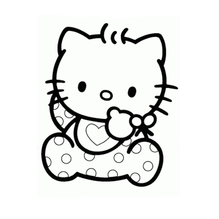 pirate hello kitty coloring pages - photo#6
