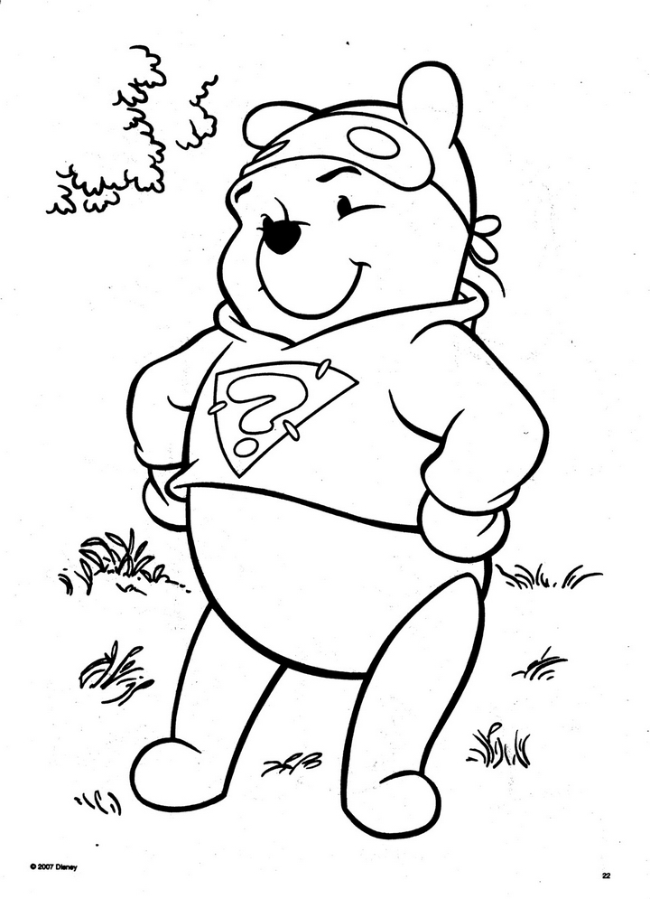 Ds color az colorare for My friends tigger and pooh coloring pages