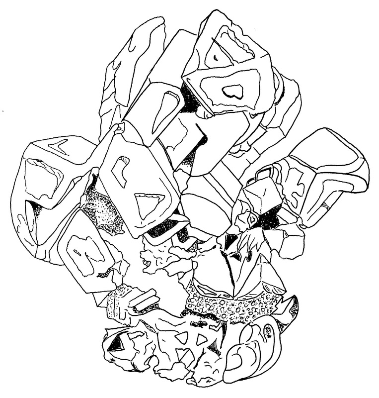 crystal ball coloring pages | Seven Color Crystal Ball Az Dibujos Para Colorear Sketch ...