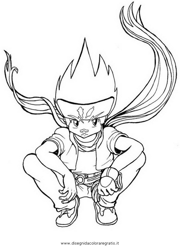 ginga beyblade coloring pages - photo#25