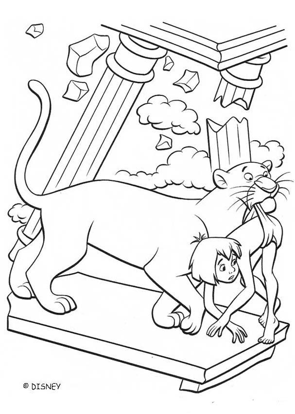 THE JUNGLE BOOK Original movie printables - KING LOUIE kingdom
