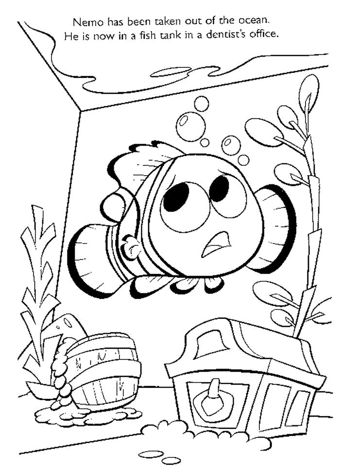 flag offish nemo Colouring Pages (page 2)