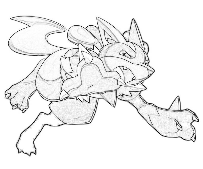 Lucario Coloring Pages Crokky Coloring Pages