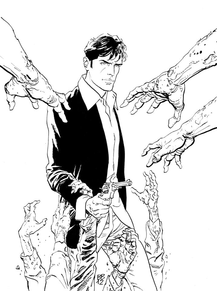 House of Mystery: Bruno Brindisi copertinista di Dylan Dog ...