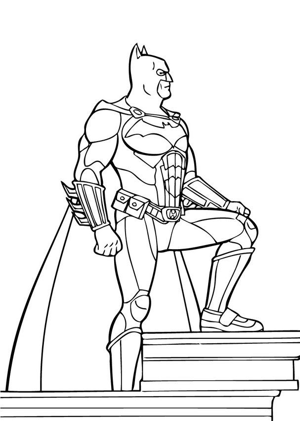 Printable coloring pages car - Puissant 6l9o4 Batman Car Coloring Pages Printable Az Colorare