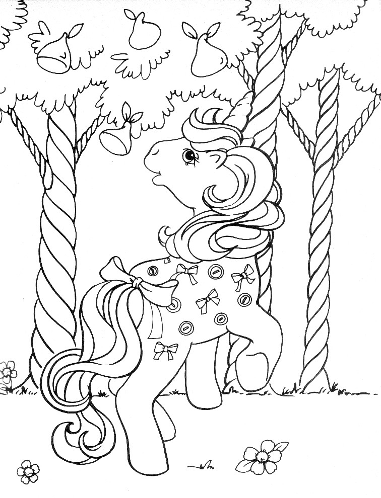 Stampare Disegni da Colorare. Serie My Little Pony. 8
