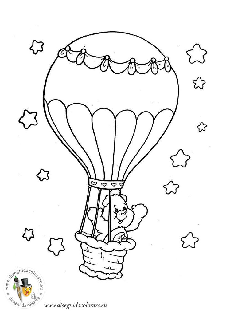 Pin by Treuer Nóra on coloring pages 1 (care bears) | Pinterest